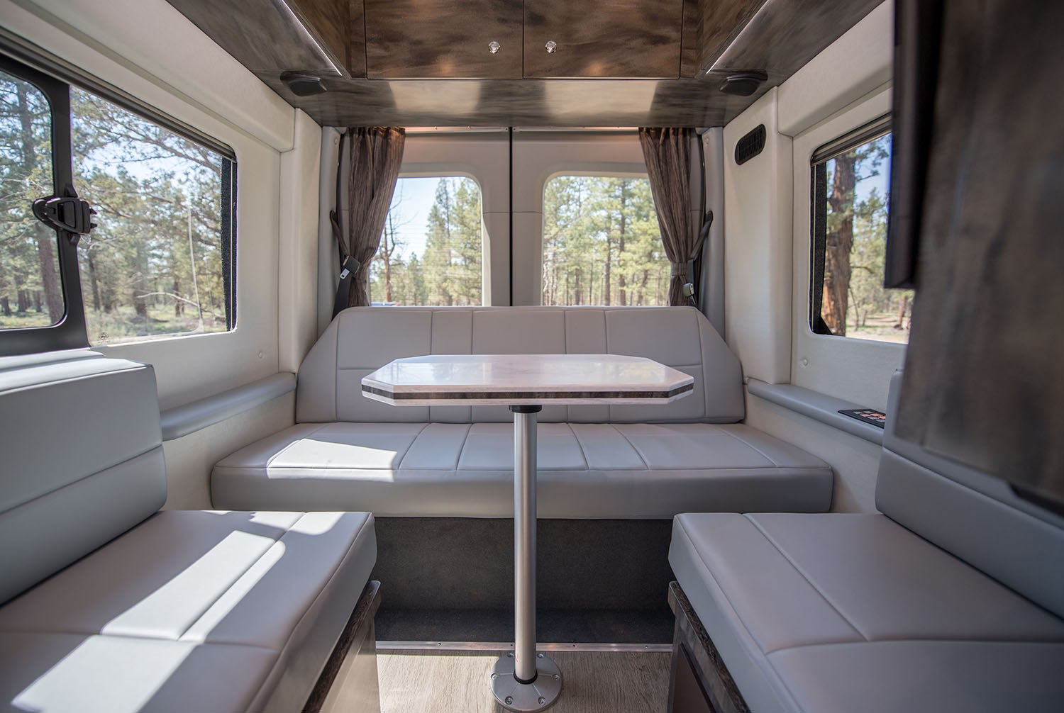 Luxury Coach Van Interior Keystone Works