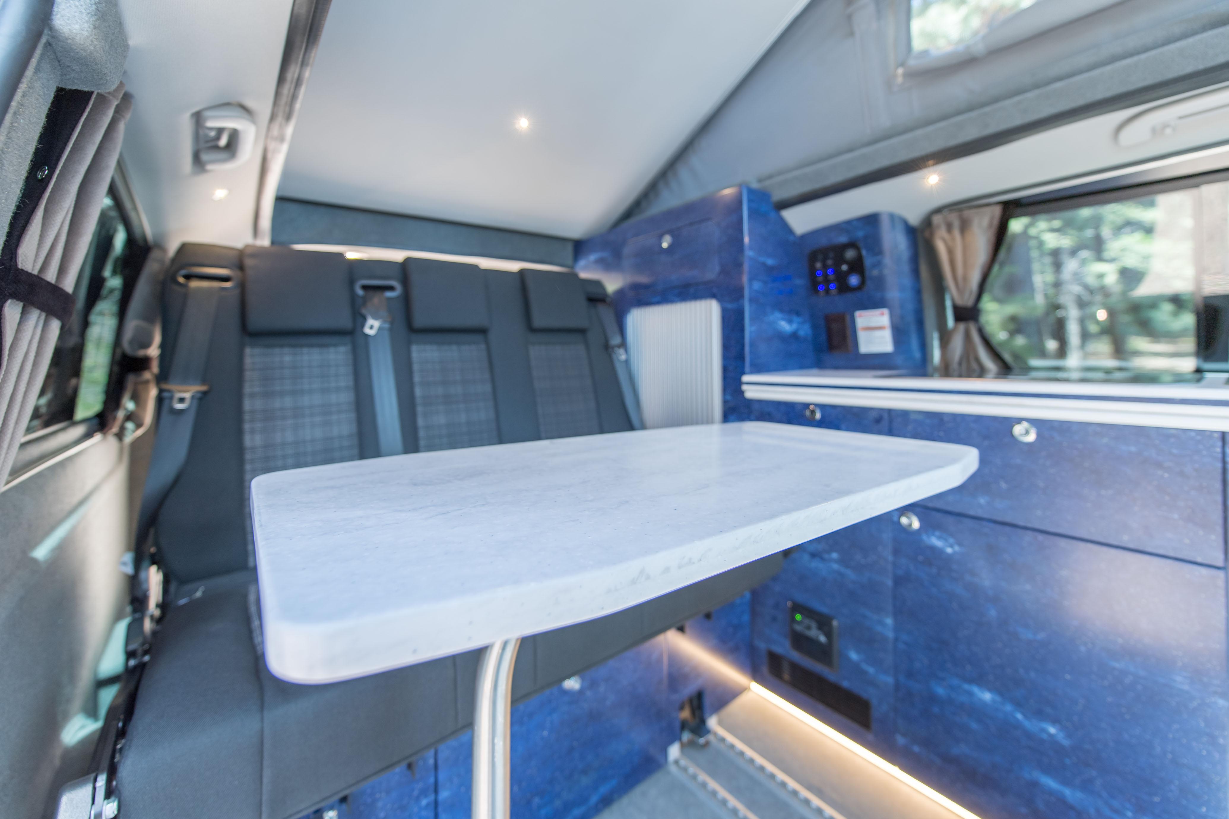 Mercedes Benz Camper Van Oregon Keystone Coach Works Custom Corian