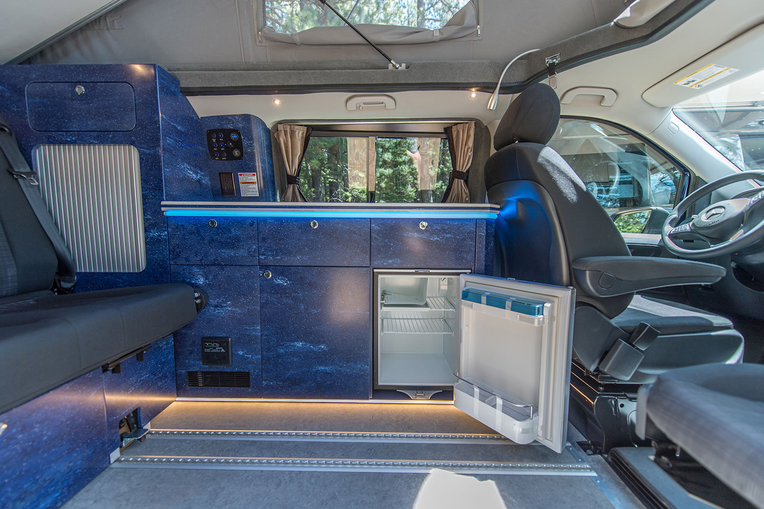 Mercedes Custom Luxury Van Interior