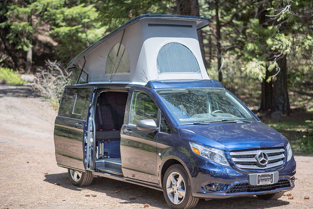 Mercedes Van Camper >> Mercedes Benz Camper Van Oregon Keystone Coach Works